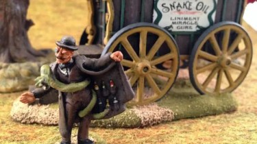 Snake oil wagon