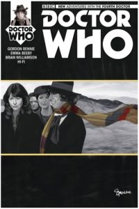 Doctor Who: The Fourth Doctor #2 AOD exclusive cover by Simon Meyers