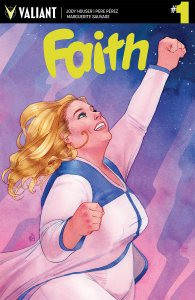 Faith #1 cover by Kevin Wada