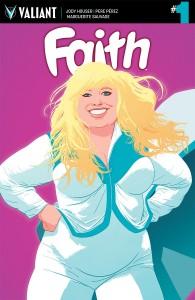 Faith #1 cover by Kano
