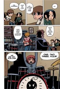 Scott Pilgrim HC page 13