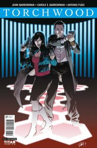 Torchwood #1 cover by Elena Casagrande