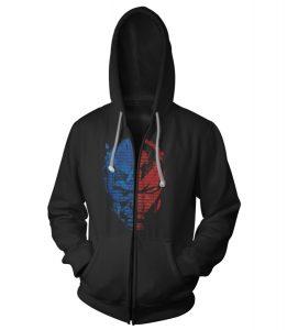 Civil War hoodie front mockup