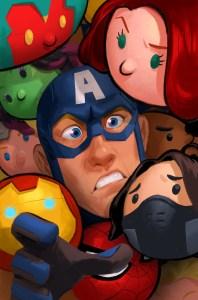 Captain America: Steve Rogers #5 Tsum Tsum Takeover Variant