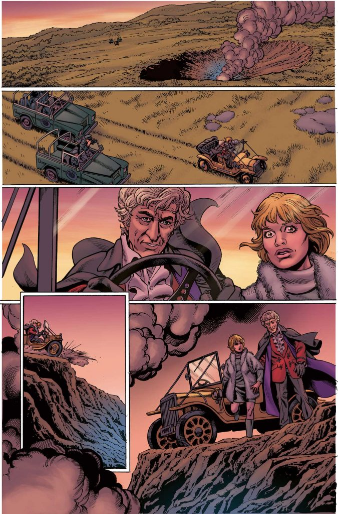 Doctor Who: The Third Doctor page