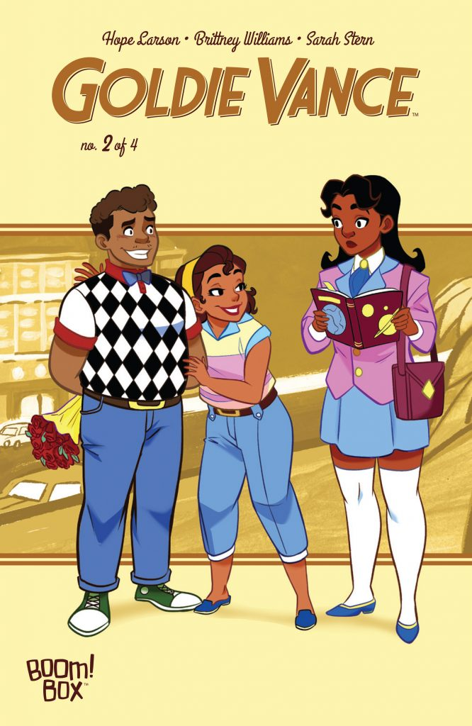 Goldie Vance #2 cover