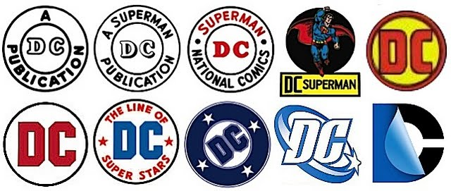 A history of DC Comics logos
