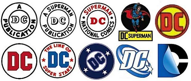 A history of DC Comics logos