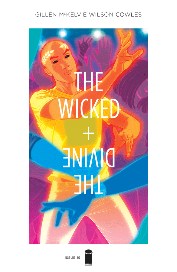 The Wicked + the Divine #19 cover by Jamie McKelvie