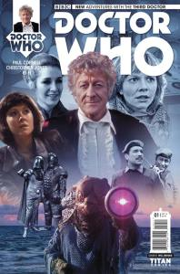 Doctor Who: The Third Doctor #1 photo variant cover