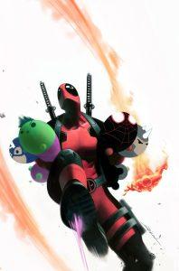 Uncanny Avengers #12 Tsum Tsum Takeover Variant