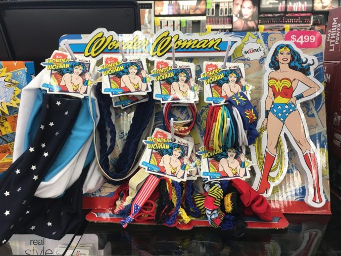 Wonder Woman hair accessories
