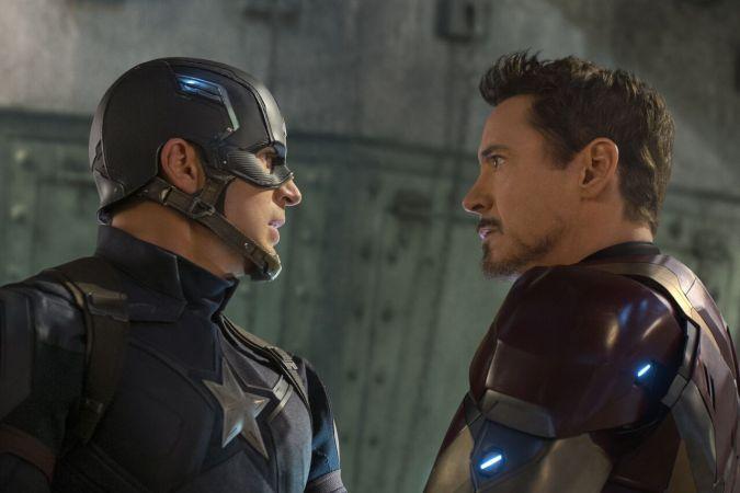 Captain America: Civil War - the face-off