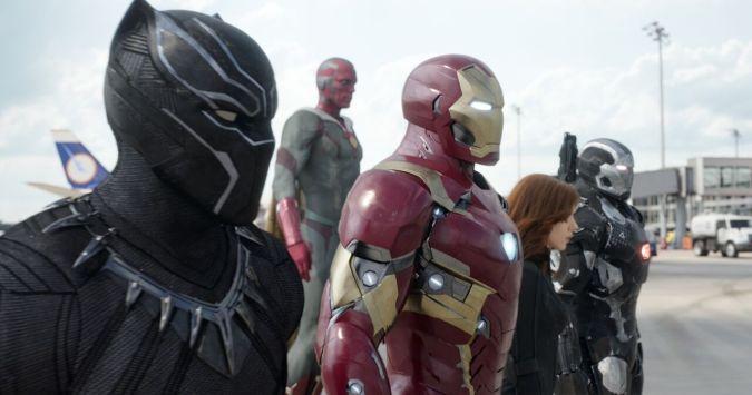 Captain America: Civil War - Iron Man's team