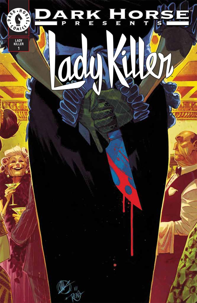 Lady Killer 2 variant cover by Matteo Scalera and Moreno Dionisio