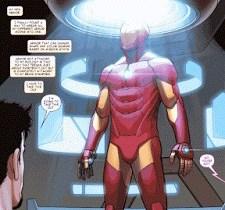 Google Bubble Zoom Iron Man