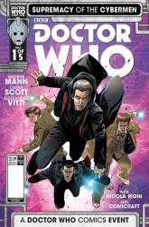 Doctor Who: Supremacy of the Cybermen #1 cover by Alessandro Vitti