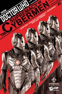 Doctor Who: Supremacy of the Cybermen #1 Forbidden Planet/Jetpack store variant
