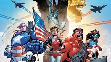 U.S.Avengers cover by Paco Medina