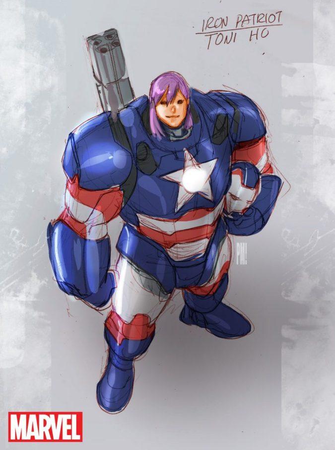 Iron Patriot by Paco Medina