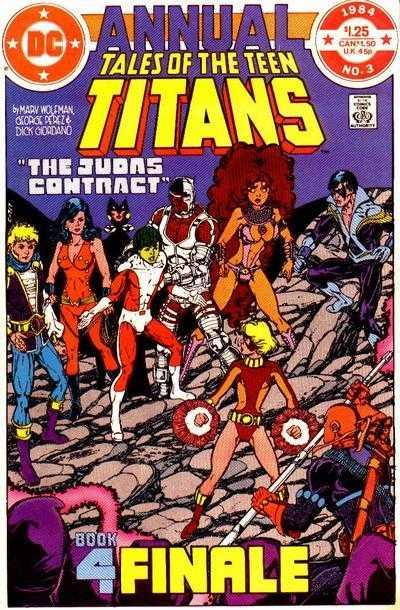 The New Teen Titans: The Judas Contract