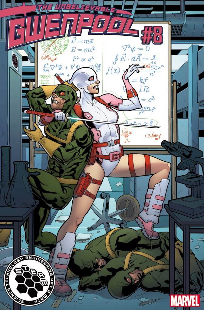 M (math) – GWENPOOL #8 by Will Slinky