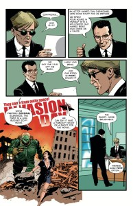 Resident Alien: The Man With No Name #1 preview page 2
