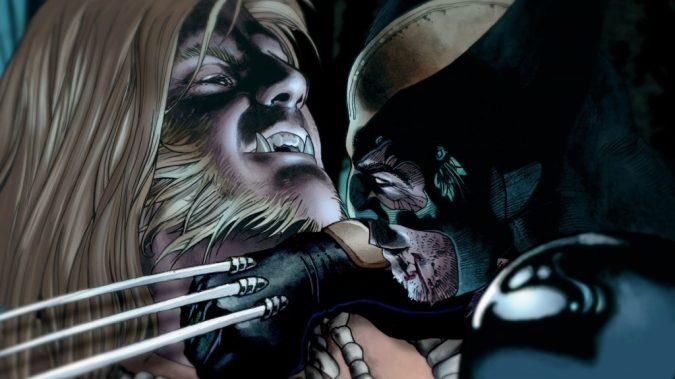Wolverine vs. Sabretooth still