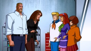 Triple H and Stephanie McMahon meet Fred, Daphne, and Velma in Scooby-Doo! and WWE: Curse of the Speed Demon