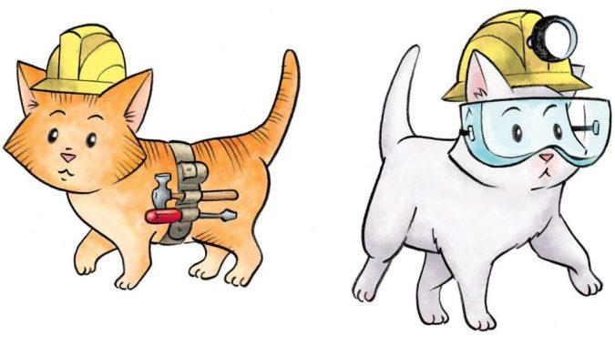 House Kittens by John Patrick Green