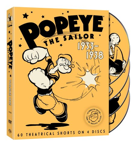 Popeye the Sailor 1933-1938 Volume 1