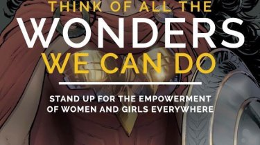 Wonder Woman United Nations campaign art by Nicola Scott