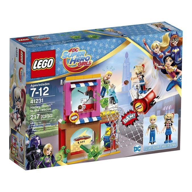 LEGO DC Super Hero Girls Harley Quinn to the Rescue
