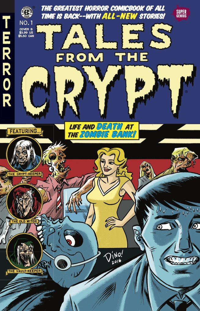 Tales From the Crypt #1 cover by Dean Haspiel