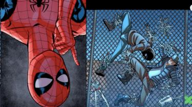 Marvel Video Comic sample