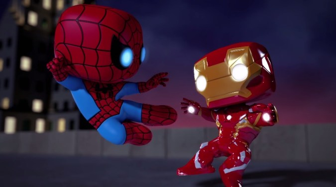 Marvel Funko Iron Man Spider-Man