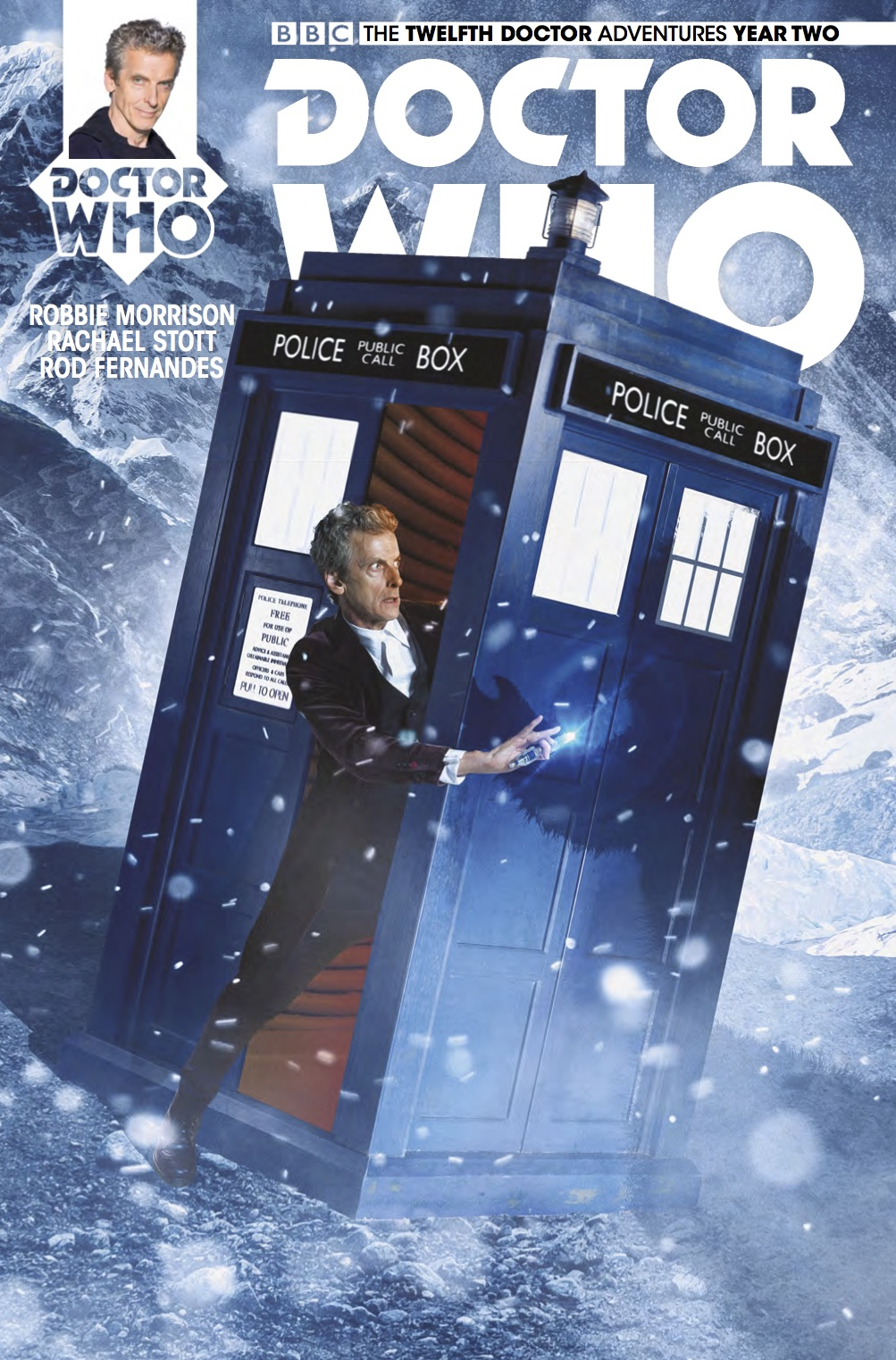 Doctor Who: The Twelfth Doctor Year Two #14 photo cover