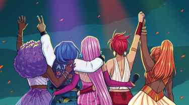 Jem and the Holograms #26 cover by Jen Bartel