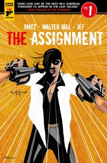 The Assignment #1 cover by Pasquale Qualano
