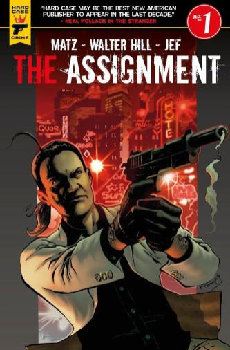 The Assignment #1 cover by Francisco Paronzini