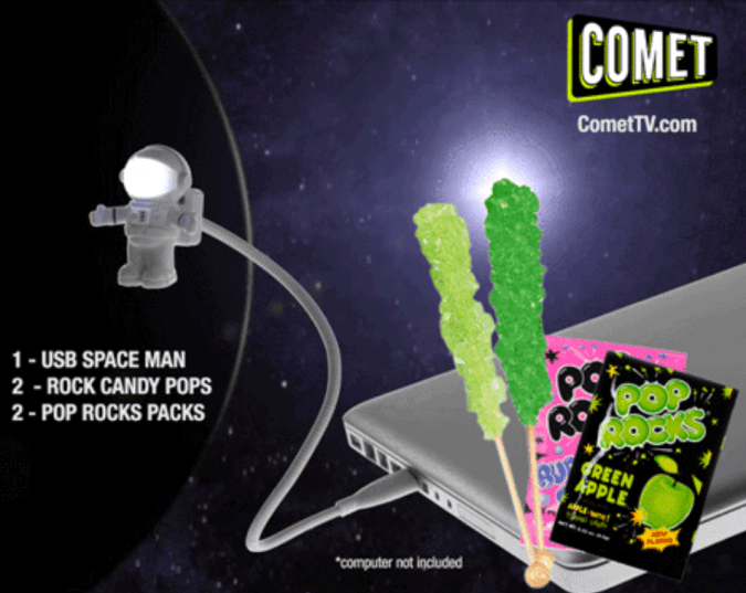COMET TV January 2017 giveaway