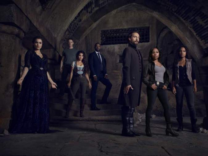 The cast of Sleepy Hollow season 3