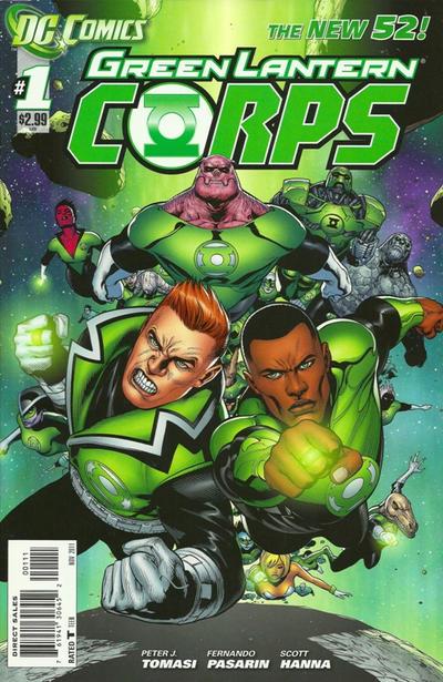 Green Lantern Corps #1