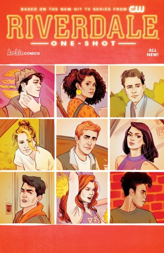Riverdale one-shot cover by Sandra Lenz