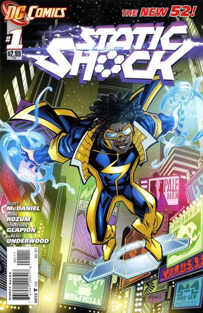Static Shock #1
