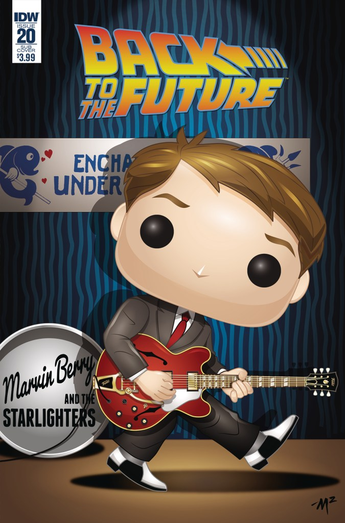 Back to the Future #20 Funko variant cover by Mike Martin