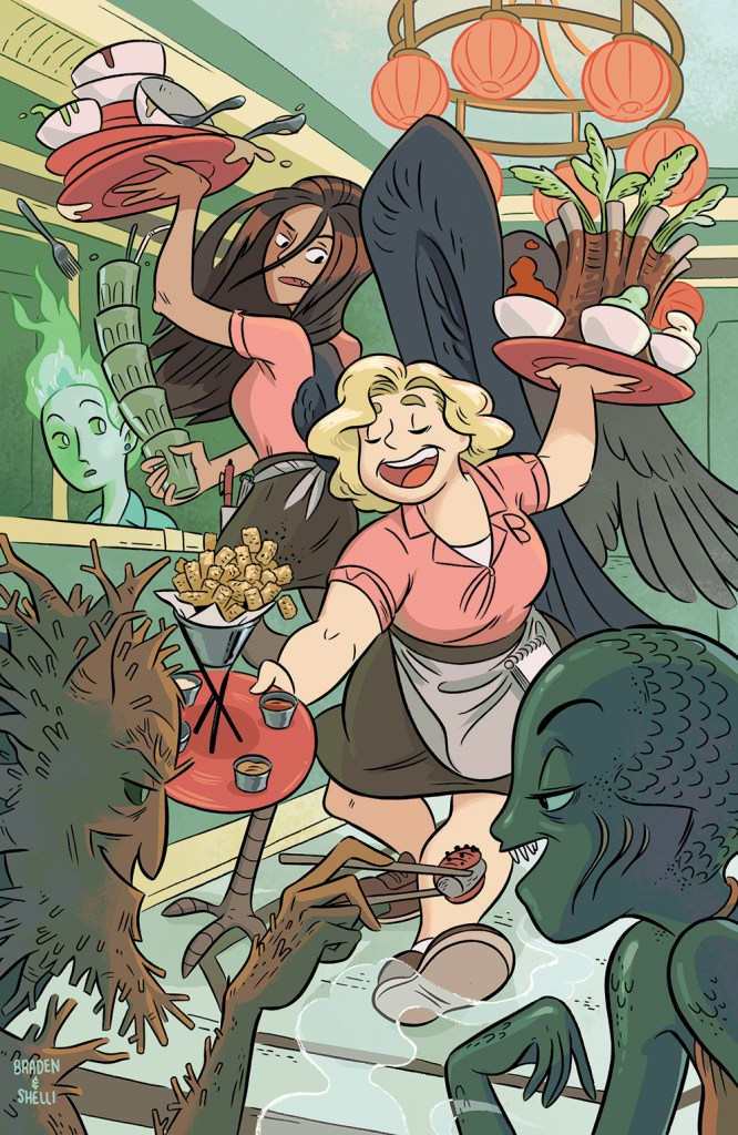 Brave Chef Brianna #1 variant cover