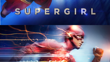 Supergirl Flash promo images