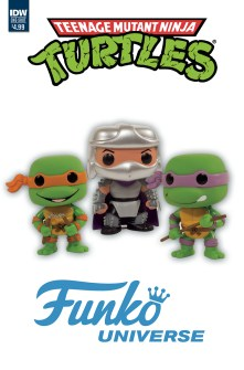 Teenage Mutant Ninja Turtles: Funko Universe Toy Variant