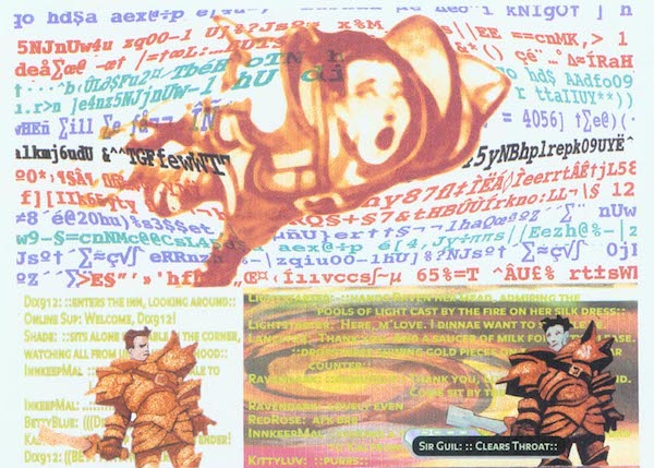 Panel from User #1, art by John Bolton